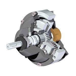 Zykloidengetriebe / parallel / manuell / für Ventilantrieb