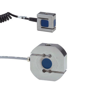 Wägezelle / Zug- und Druckkraft / S-förmig / kompakt / IP67