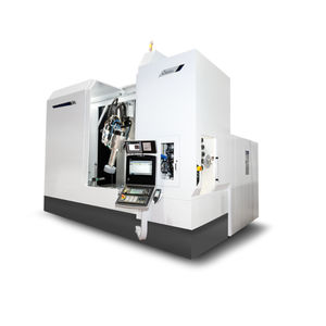 Schleifmaschine mit Senkrechtschleifscheibe / für Blech / Werkstück / CNC