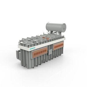 Leistungstransformator / getaucht / Hochspannung / Hochstrom