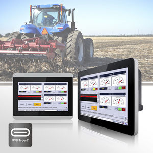 Monitor mit Multi-Touch-Screen / 7
