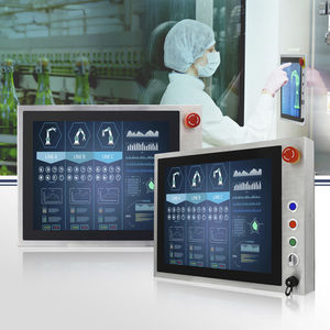 Panel-PC / TFT LCD / mit Multi-Touch-Screen / mit kapazitivem PCAP-Touchscreen / 15