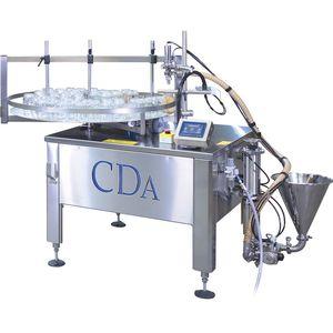 automatische Abfüllanlage / für die Lebensmittelindustrie / für viskose Produkte / für Lebensmittel