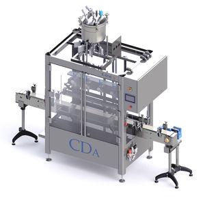 automatische Abfüllanlage / für die Kosmetikindustrie / für die Lebensmittelindustrie / für die chemische Industrie