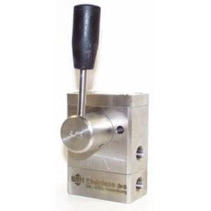 Hydraulik-Wegeventil / mit Hebel