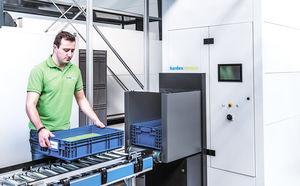 Lagertechnik-Puffersystem