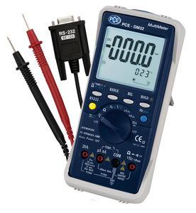 LCD-Voltmeter / tragbar / AC