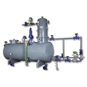 Entgaser für Heizkessel-Zulaufwasser
