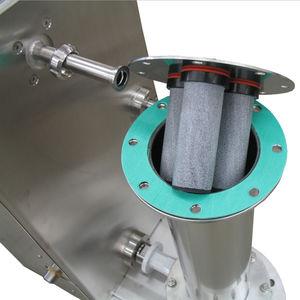 Druckluftrohr / für Transport / Edelstahl / elastisch