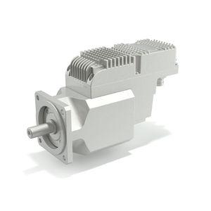 Servomotor mit integrierter Steuerung