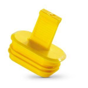 Lamellenstopfen / außen / Kunststoff