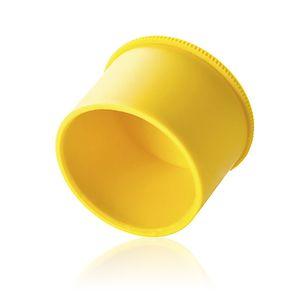zylinderförmiger Stopfen / Thermoplast / Schutz / gerändelt