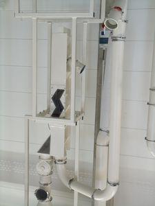 Luftabscheider / Partikel / Granulat / für Schüttgut