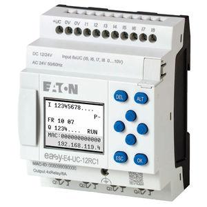 Spannungs-Kontrollrelay / programmierbar / kompakt / DIN-Schienen