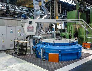 Wärmebehandlungsofen / Schacht / Gas / Stickstoff