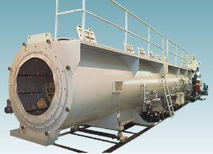 Kalibriertank für Extrusion / Rohr / Vakuum / für Profile