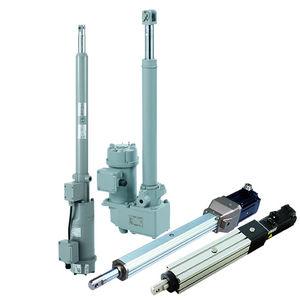 elektrischer Zylinder / mit Schnecke / Präzision