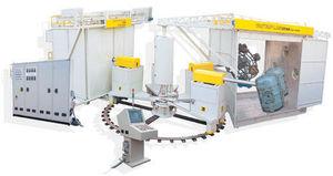 5-Arbeitsbereich Rotationsformmaschine