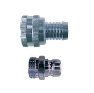 Schraubanschluss / Schnell / gerade / hydraulisch