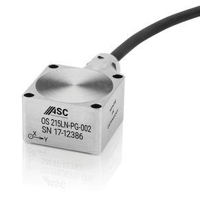 2-achsiger Beschleunigungsmesser / kapazitiv / geräuscharm / IP68