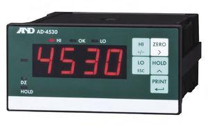 Stromanzeiger / digital / DIN-Schienen / für Dehnungsmessstreifen