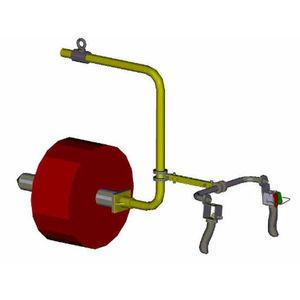 pneumatischer Manipulator / für Spulen-Handling / für Rollen / kundenspezifisch