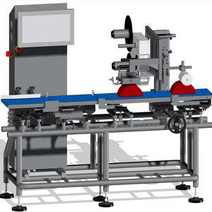 automatische Wiege- und Etikettiermaschine
