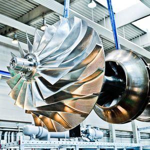 radialer Turbokompressor