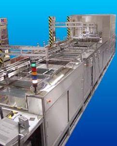 Ultraschall-Reinigungsanlage / Wasser / automatisiert / Prozess