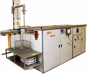 Wasserreinigungsanlage / Ultraschall / automatisiert / für die Raumfahrt