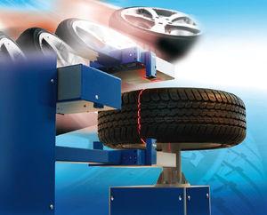 optische Inspektionsmaschine / für Reifen / Fehler / Inline