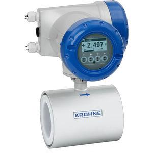 elektromagnetischer Durchflussmesser / für Wasser / Abwasser / für leitende Flüssigkeit