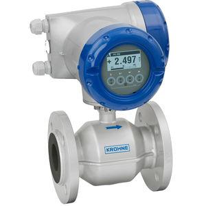 elektromagnetischer Durchflussmesser / für Wasser / Abwasser / für Chemikalien