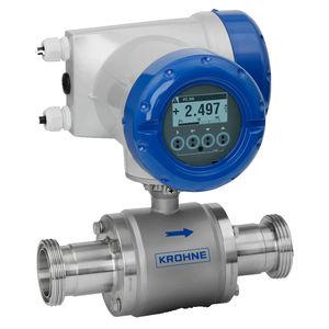 elektromagnetischer Durchflussmesser / für Säure / für hochviskose Flüssigkeiten / für schwere Flüssigkeiten