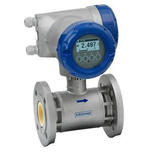 elektromagnetischer Durchflussmesser / für Wasser / für Öl / für Chemikalien