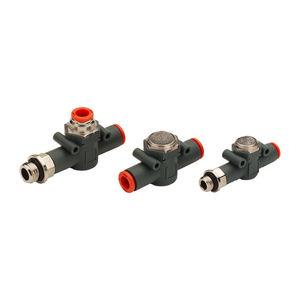 Ventil / schnellen Abgas / Druckluft / Inline / Messing