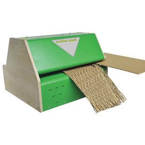 Kartonchips-Polstermaschine