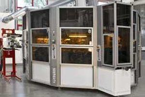 automatische Siebdruckmaschine / servogesteuert / 8-Farben / für Etiketten