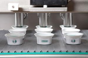 Abfüllanlage für Flüssigkeiten / für Lebensmittel / für teigige Produkte / Form
