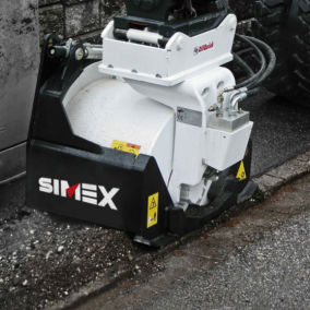 Hobelmaschine für Böden / für Bagger