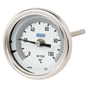 Bimetall-Thermometer / Zeiger / Eintauchfühler / robust