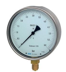 analoges Manometer / Rohrfeder / für Gas / für Flüssigkeiten