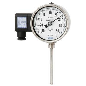 Gasdruckthermometer / analog / kompakt / Edelstahl