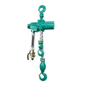 Druckluft-Kettenzug / mit Bauhöhe / für Intensiveinsatz / ex-geschützt