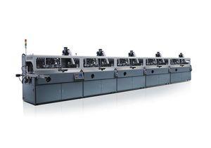 automatische Siebdruckmaschine / 5-Farben