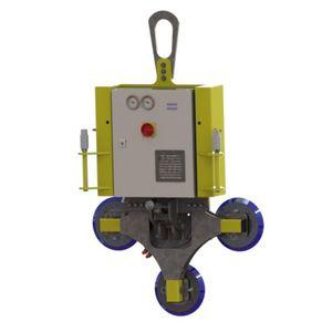 Vakuum-Hebegerät / für Glasplatten / horizontal / 90°-Schwenk / vertikal