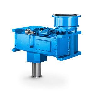 Getriebe für Belüfter / Schneckenzahnrad / parallel / > 10 kNm