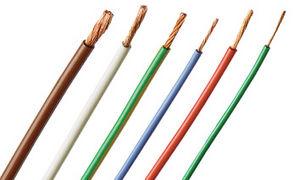 isolierter Leitungsdraht / Kupfer / PVC / weich