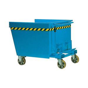 Metall-Müllbehälter