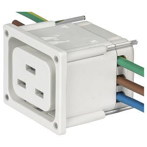 Stromversorgungs-Steckverbinder / Snap-In / Thermoplast / IEC